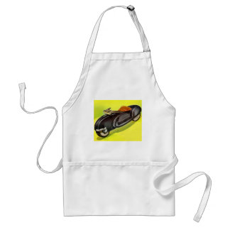 Retro vintage 50's Motorcycle of the Future Aprons