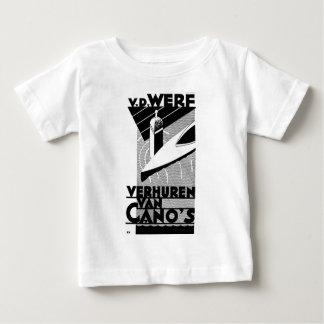 retro vintage advertisement - Werf  canoe rentals Baby T-Shirt