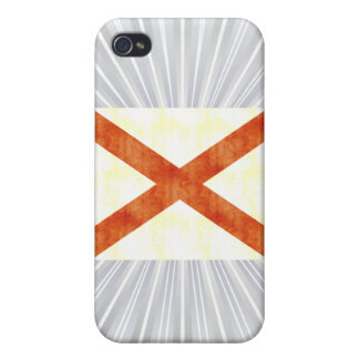 Retro Vintage Alabama Flag Covers For iPhone 4