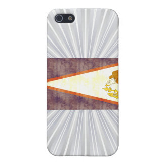 Retro Vintage American Samoa Flag Case For iPhone 5