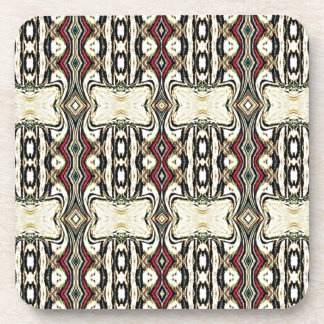 Retro Vintage Ancient Pattern Drink Coasters
