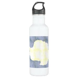 Retro Vintage Antarctica Flag 24oz Water Bottle