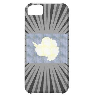 Retro Vintage Antarctica Flag Case For iPhone 5C