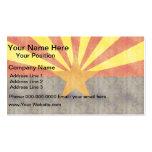 Retro Vintage Arizona Flag Business Cards