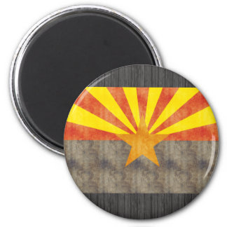 Retro Vintage Arizona Flag Refrigerator Magnets