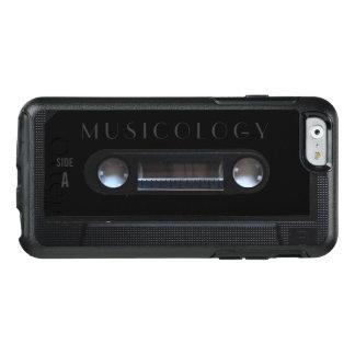 Retro vintage audio style cassette cover