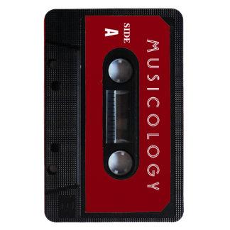 Retro vintage audio style cassette cover magnet