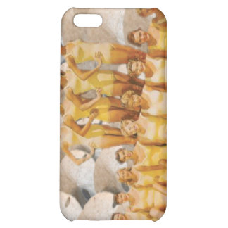 Retro Vintage Bathing Beauties on Sand Dollars iPhone 5C Cases