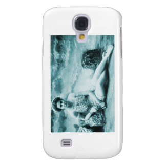 Retro Vintage Bathing Beauty Galaxy S4 Cover