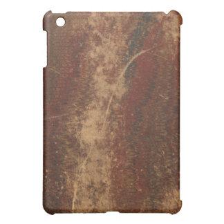Retro vintage book cover texture, rough & worn iPad mini cases
