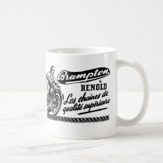 Retro Vintage Brampton Renold Motorcycle Coffee Mug