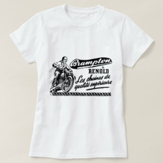 Retro Vintage Brampton Renold Motorcycle T Shirt