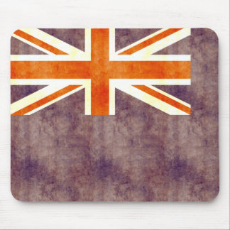 Retro Vintage British Virgin Islands Flag Mouse Pads