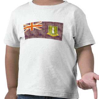 Retro Vintage British Virgin Islands Flag T Shirts
