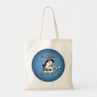 Retro VIntage Bunco What Number Are We On? Tote Bag