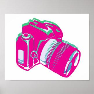 Retro/Vintage Camera Poster