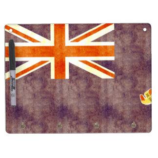 Retro Vintage Cayman Islands Flag Dry Erase Whiteboard
