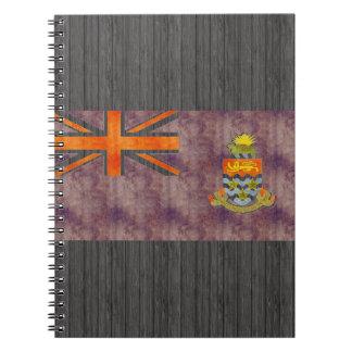 Retro Vintage Cayman Islands Flag Notebook