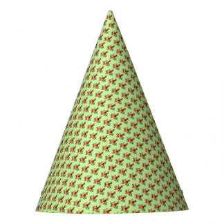 Retro Vintage Christmas Bells Party Hat