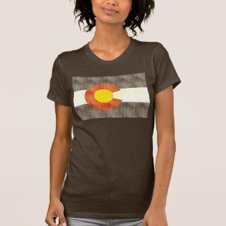 Retro Vintage Colorado Flag T-shirts