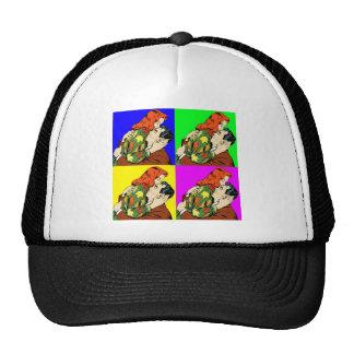 retro vintage comic trucker hat
