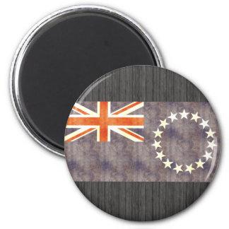 Retro Vintage Cook Islands Flag Magnets