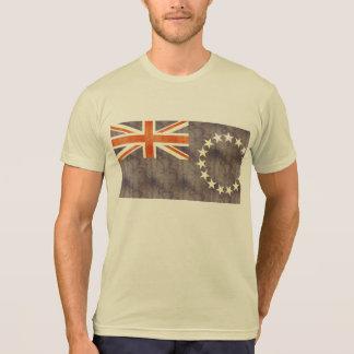 Retro Vintage Cook Islands Flag T-Shirt