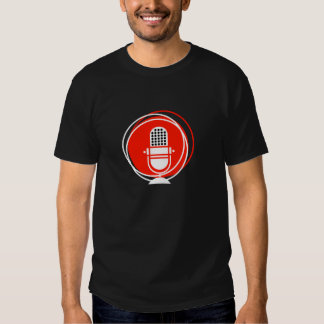 Retro & Vintage Designs Microphone microphone reco T-Shirt