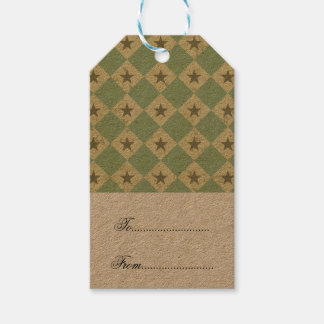 retro, vintage,diamond,fall colours,pattern,chic, gift tags