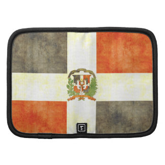 Retro Vintage Dominican Republic Flag Planners