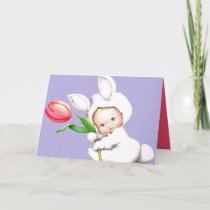 Retro vintage Easter Holiday