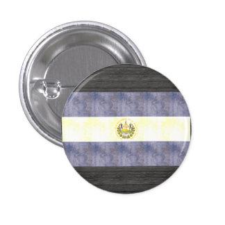 Retro Vintage El Salvador Flag Pinback Button