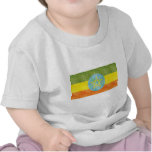 Retro Vintage Ethiopia Flag T-shirt