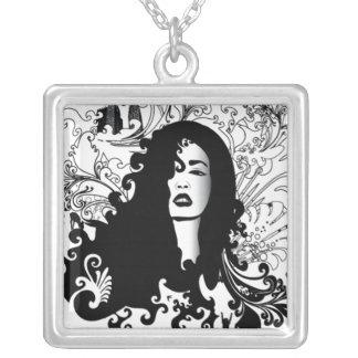 retro vintage fashion necklace