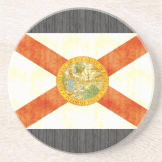 Retro Vintage Florida Flag Coasters