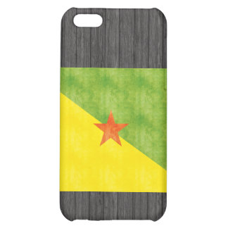 Retro Vintage French Guiana Flag iPhone 5C Covers