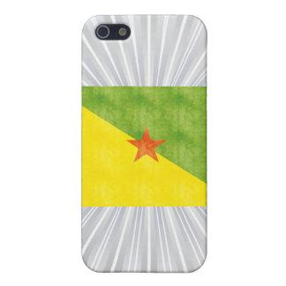 Retro Vintage French Guiana Flag iPhone 5 Case