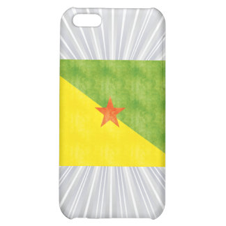 Retro Vintage French Guiana Flag iPhone 5C Cover