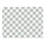 Retro Vintage Geometric Pattern - Personalize Post Cards