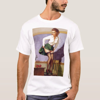 Retro Vintage Gil Elvgren Pin Up GIrls Tees