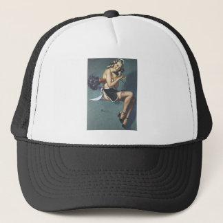 Retro Vintage Gil Elvgren Pin Up GIrls Tees Trucker Hat