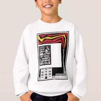 retro vintage graphic advertisement: paint factory sweatshirt