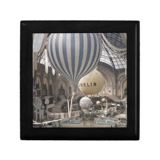 Retro Vintage Hot Air Balloon Gift Box