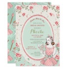 Retro Vintage Housewife 50's Bridal Shower Card