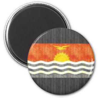 Retro Vintage Kiribati Flag Fridge Magnets
