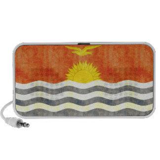 Retro Vintage Kiribati Flag iPod Speaker