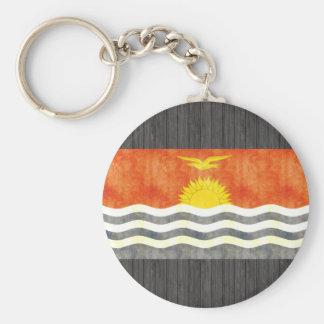 Retro Vintage Kiribati Flag Key Chain