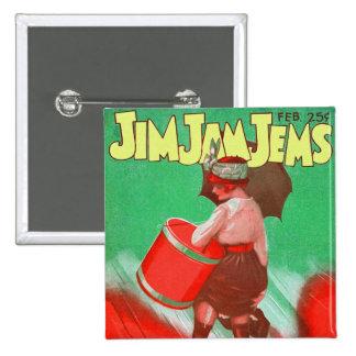 Retro Vintage Kitsch 20s Jim Jam Jems Pin Up