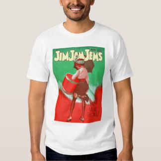 Retro Vintage Kitsch 20s Jim Jam Jems Pin Up Tshirt