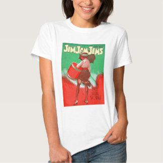 Retro Vintage Kitsch 20s Jim Jam Jems Pin Up Tshirts